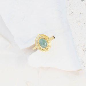 Vintage-Aquamarine-Yüzük-1